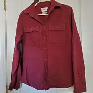 Long sleeve flannel style shirt